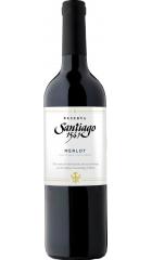 "Вино Undurraga, ""Santiago 1541"" Merlot Reserva, 2017, 0.75 л"
