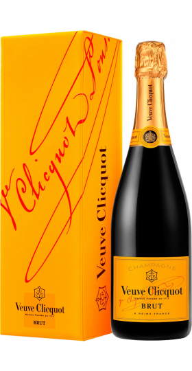 Шампанское Veuve Clicquot, Brut, with gift box, 0.75 л