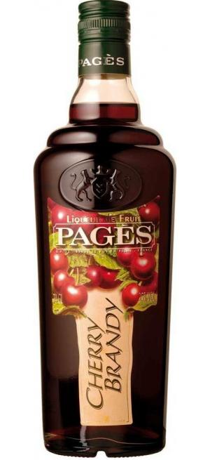 """Ликер """"Pages"""" Cherry Brandy, 0.7 л"""