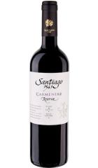 "Вино Undurraga, ""Santiago 1541"" Carmenere Reserva, 2019, 0.75 л"