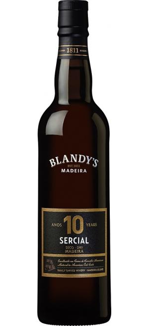 "Вино Blandy's, ""Sercial"" Dry 10 Years Old, 0.5 л"