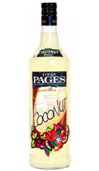"""Сироп """"Pages"""" Coconut, 0.7 л"""