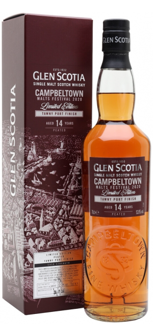 "Виски ""Glen Scotia"" 14 Years Old Tawny Port Finish, gift box, 0.7 л"