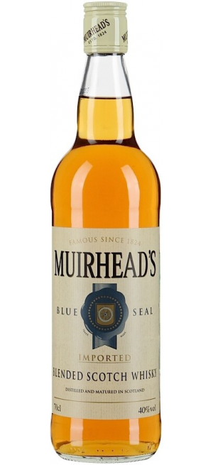 """Виски Muirhead's """"Blue Seal"""" 3 Years Old, 0.7 л"""