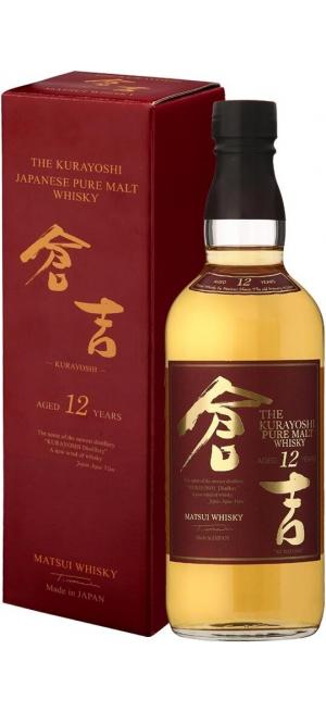 """Виски """"The Kurayoshi"""" Pure Malt 12 Years, gift box, 0.7 л"""