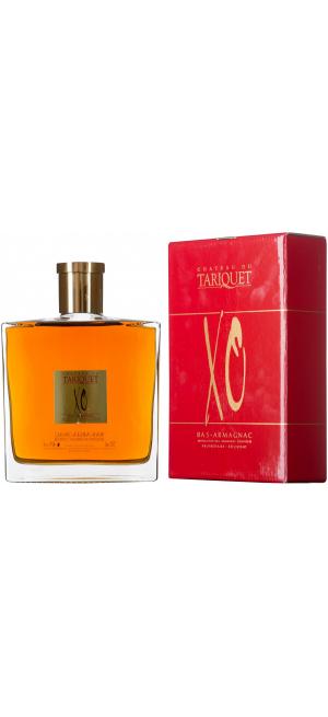 "Арманьяк ""Chateau du Tariquet"" XO, Carafe ""Chance"", gift box, 0.7 л"
