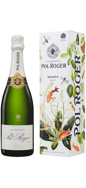 """Шампанское Pol Roger, Brut Reserve, gift box """"Pentland"""", 0.75 л"""