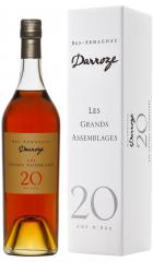 "Арманьяк Darroze, ""Les Grands Assemblages"" 20 ans d'age, Bas-Armagnac, gift box, 0.7 л"