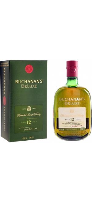 """Виски """"Buchanan's"""" De Luxe 12 Years Old, gift box, 0.75 л"""