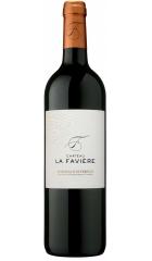 Вино Chateau La Faviere, Bordeaux Superieur AOC, 2018, 0.75 л