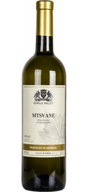 "Вино ""Duruji Valley"" Mtsvane, 2017, 0.75 л"