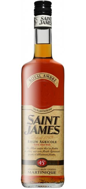 """Ром """"Saint James"""" Royal Ambre, Martinique AOC, 0.7 л"""