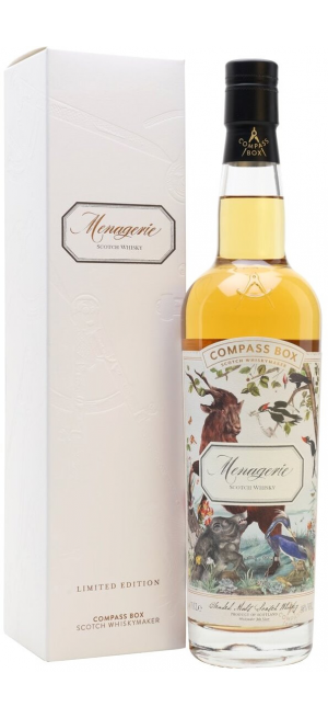 "Виски Compass Box, ""Menagerie"", gift box, 0.7 л"