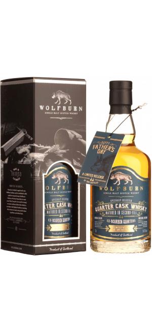 """Виски Wolfburn, """"Quarter Cask"""", gift box, 0.7 л"""