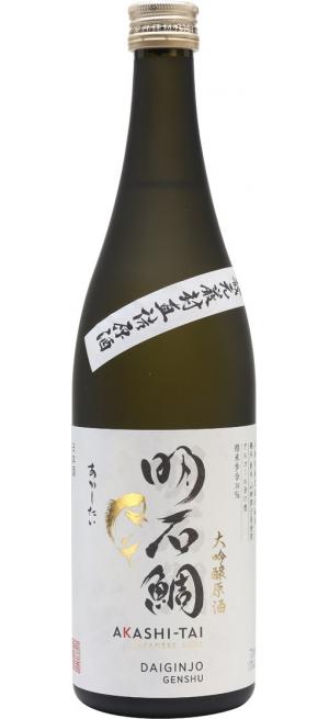 """Саке """"Akashi-Tai"""" Daiginjo Genshu, 300 мл"""