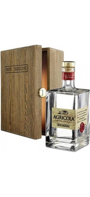 Граппа Bepi Tosolini, Agricola, decanter & wooden box, 0.7 л
