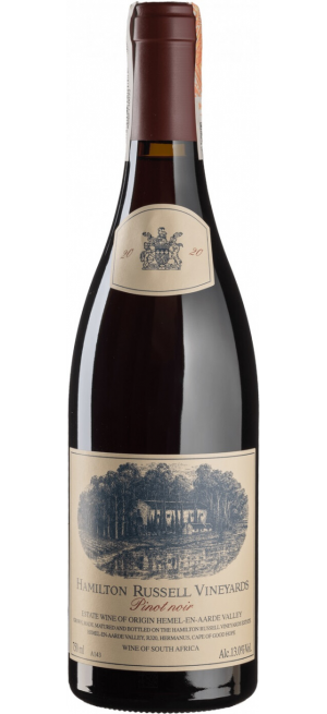Вино Hamilton Russell Vineyards, Pinot Noir, Hemel-en-Aarde Valley, 2020, 0.75 л