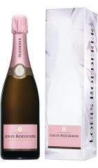 """Шампанское Brut Rose AOC, 2012, """"Grafika"""" gift box, 0.75 л"""