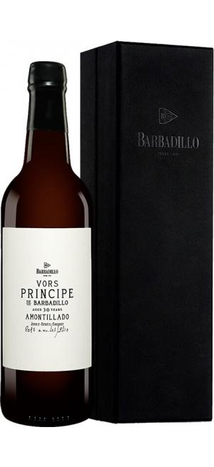 Херес Barbadillo, VORS Amontillado, 30 years, Jerez DO, gift box, 0.75 л