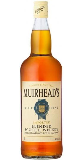 """Виски Muirhead's """"Blue Seal"""" 3 Years Old, 1 л"""