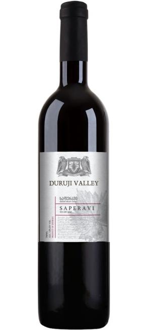 "Вино ""Duruji Valley"" Saperavi, 2018, 0.75 л"