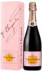 Шампанское Veuve Clicquot, Brut Rose, with gift box, 0.75 л