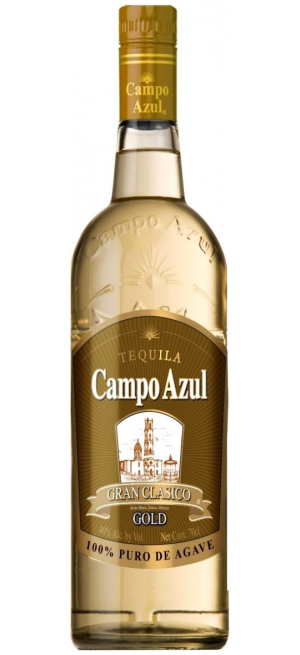 "Текила ""Campo Azul"" Gran Clasico Gold, 1 л"