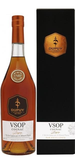 "Коньяк ""Dupuy"" VSOP, gift box, 0.7 л"
