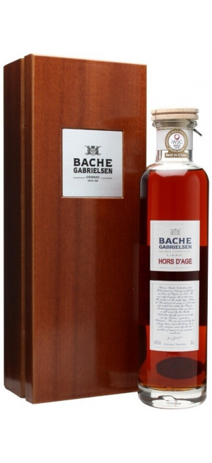 Коньяк Bache-Gabrielsen, Hors d'Age Grande Champagne, wooden box, 0.7 л