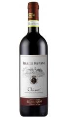 """Вино Guicciardini Strozzi, """"Terre di Poppiano"""" Chianti DOCG, 2019, 0.75 л"""