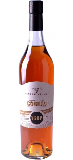 "Коньяк ""Pierre Vallet"" VSOP, 0.7 л"