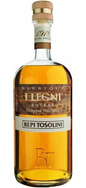 """Граппа Bepi Tosolini, """"I Legni Rovere"""", 0.7 л"""