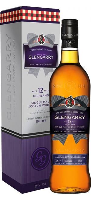 """Виски """"Glengarry"""" 12 Years Old, gift box, 0.7 л"""