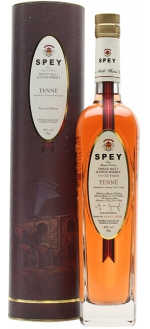 "Виски ""Spey"" Tenne, gift tube, 0.7 л"