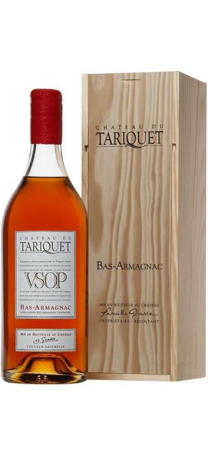 "Арманьяк ""Chateau du Tariquet"" VSOP, Bas-Armagnac AOC, wooden box, 2.5 л"