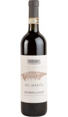 "Вино Ferraris, ""Del Martin"" Barbera d'Asti DOCG, 2018, 0.75 л"