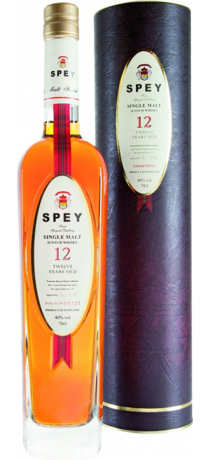 "Виски ""Spey"" 12 Years Old, gift tube, 0.7 л"