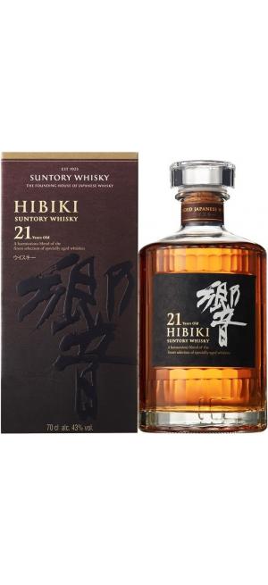"Виски Suntory, ""Hibiki"" 21 years, gift box, 0.7 л"