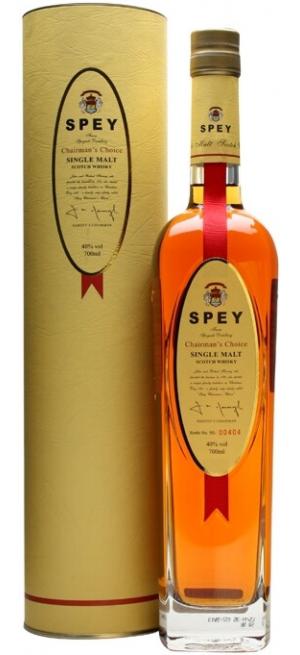"""Виски """"Spey"""" Chairman's Choice, gift tube, 0.7 л"""