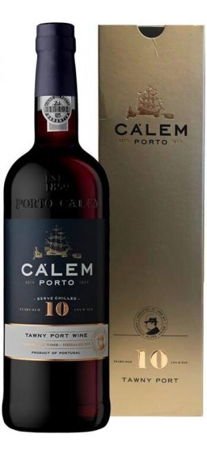 """Портвейн """"Calem"""" 10 Years Old Tawny Porto, gift box, 0.75 л"""