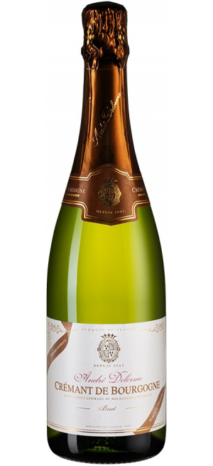 Игристое вино Andre Delorme, Brut, Cremant de Bourgogne AOC, 0.75 л