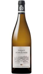 "Вино Marquis de Pennautier ""Terroirs d'Altitude"" Chardonnay, Pays d'Oc IGP, 2016, 0.75 л"