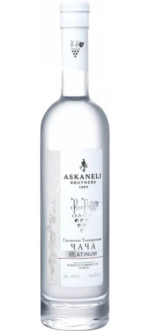 """Водка Askaneli Brothers, """"Platinum"""" Chacha, 0.5 л"""