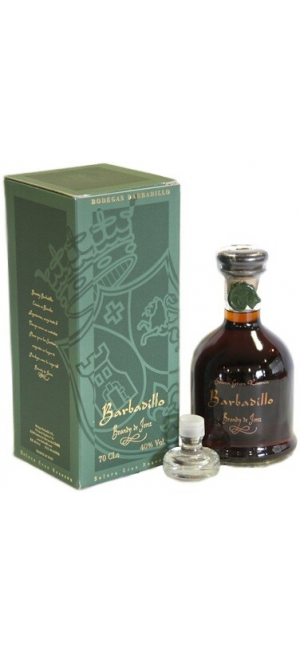 "Бренди ""Barbadillo"" Solera Gran Reserva, Brandy de Jerez DO, gift box, 0.7 л"