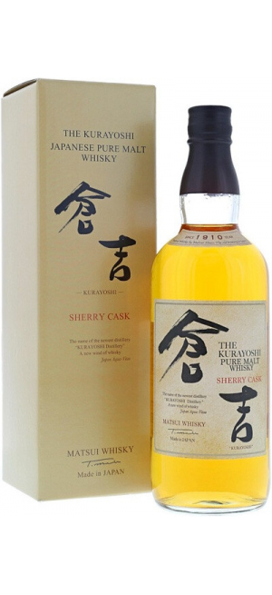 "Виски ""The Kurayoshi"" Pure Malt Sherry Cask, gift box, 0.7 л"