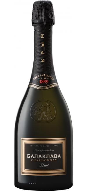 """Игристое вино """"Балаклава"""" Шардоне Брют, 0.75 л"""