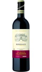 """Вино """"La Reine Clarisse"""" Rouge, Bordeaux AOC, 2018, 0.75 л"""