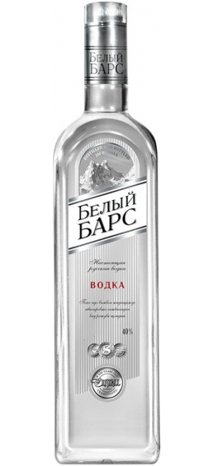 "Водка ""Белый Барс"", 0.5 л"