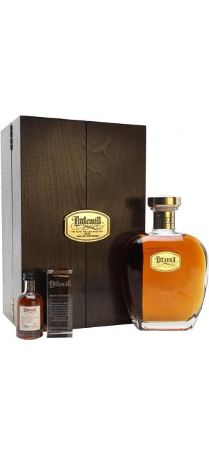 "Виски ""Private Cellar Edition"" Littlemill 25 Year Old, wooden box & mini, 0.7 л"