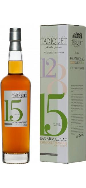 "Арманьяк Chateau du Tariquet ""Folle Blanche"" 15 years, Bas-Armagnac AOC, gift box, 0.7 л"